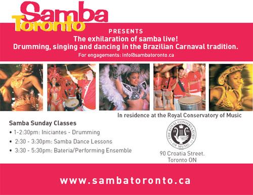 SAMBA Toronto